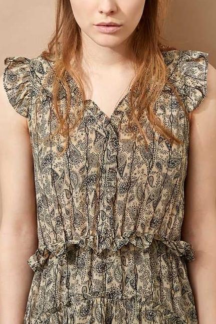 Selma  Paisley  Dress