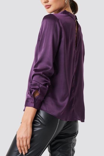 Rebecka Satin Shirt