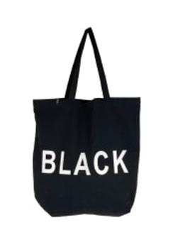 Jade Black Shopper