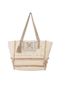Alella Embroideed Shopper Bag
