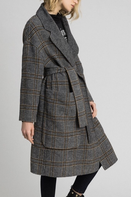 Patterned Reversible Coat