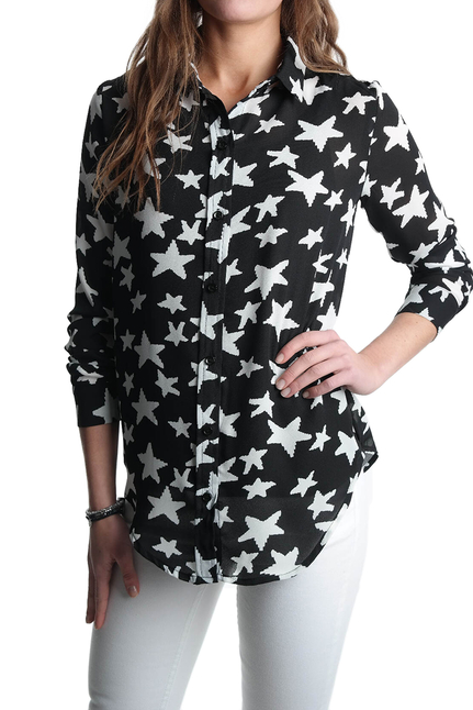 Shirt of Stars Black