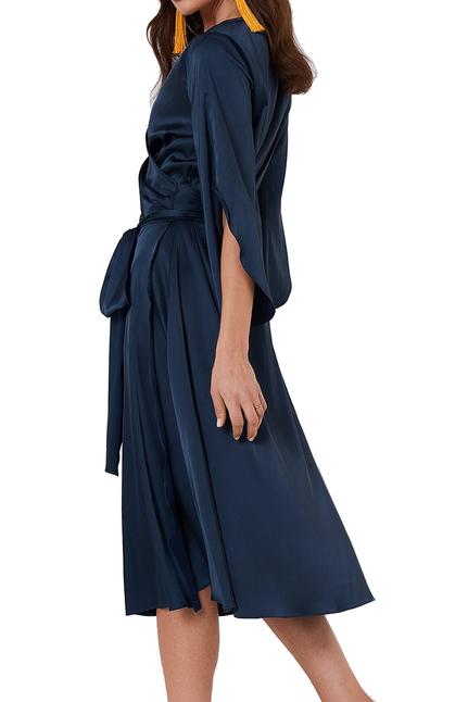 Fab Wrap Long Dress