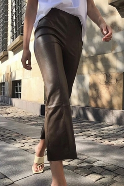 Gloria Leather Pants