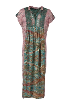Luns Sleeveless Kaftan Dress