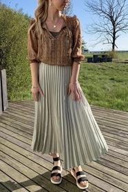 Claire Plisse Skirt
