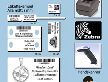"Startkit ""Express"" med Zebra skrivare"