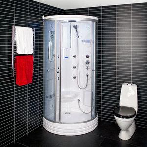 Kabina prysznicowa z hydromasażem parowa 6106