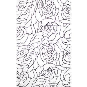 Zasłona łazienkowa ROSES LINE