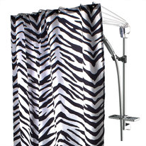 Wachlarz prysznicowy do zasłon 72 cm chrom