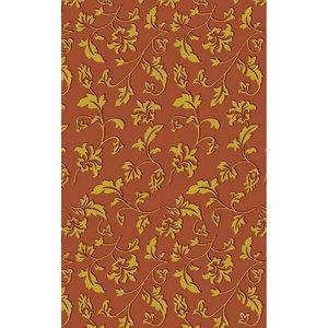 Zasłona łazienkowa FLOWER YELLOW-RED