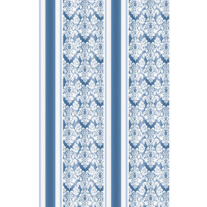 Zasłona łazienkowa ORNAMENT BLUE