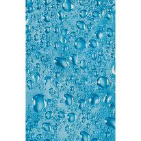 Zasłona łazienkowa WATER niebieska
