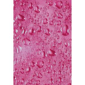 Zasłona łazienkowa WATER wiśniowa