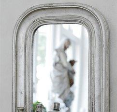 Ranskalainen peili, hopea 40 * 30 cm