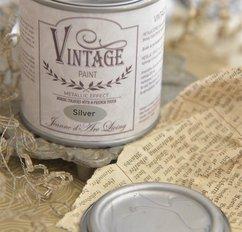 Vintage Paint Silver Metallic 200 ml