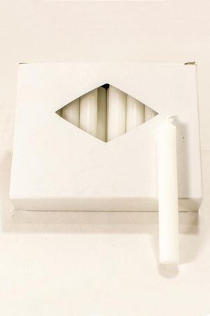 Julgransljus White 13x100 mm 20-p