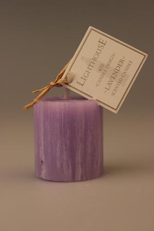 Doftljus Votiv Lavender/Lavender 38x40 mm