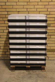 Display kronljus White 23x350 mm 10-p