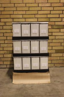 Display kronljus White 22x250 mm 12-p