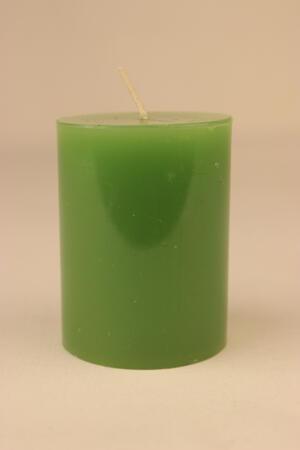 Cylinderljus Lack Green 60x80 mm