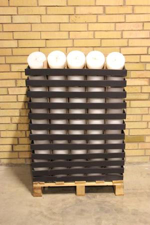 Display Garden Cylinderljus White 150x70 mm