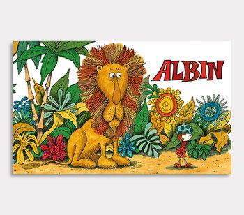 Albin är aldrig rädd