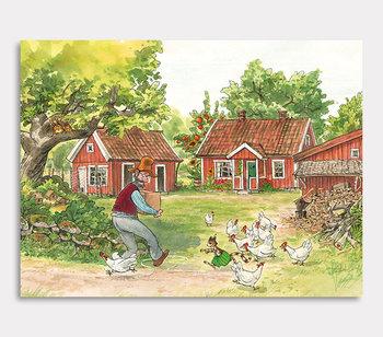 Findus jagt Hühner