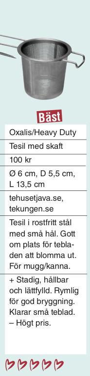 "Tesil ""Heavy duty"" - En kraftig tesil med handtag"