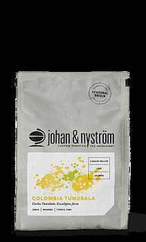 Kaffebönor Colombia Tunubala Micro Lot 250g - Johan & Nyström