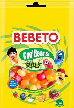 BEBETO Cool Beans Sours 60g