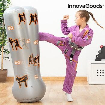 Uppblåsbar boxningssäck för barn InnovaGoods