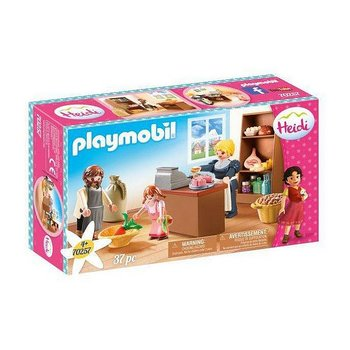 Playset City Life Keller's Store Playmobil 70257 (22 pcs)