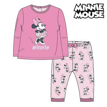 Pyjamas Barn Minnie Mouse Rosa Storlek  12 månader