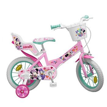 "Barncykel Minnie Mouse 12"" Rosa"