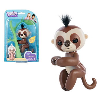 Figur Baby Sloth Fingerlings Brun 117511