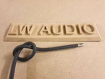 Lw Audio förtent 35mm2 Gummikabel