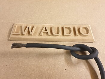 Lw Audio förtent 70mm2 Gummikabel