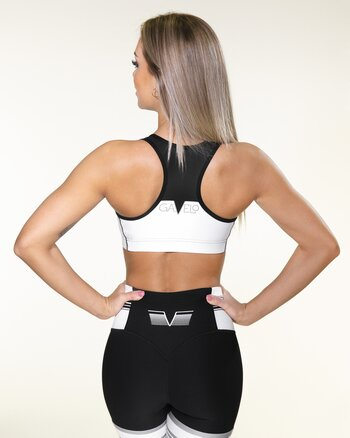 GAVELO Grand Slam Black Sports Bra