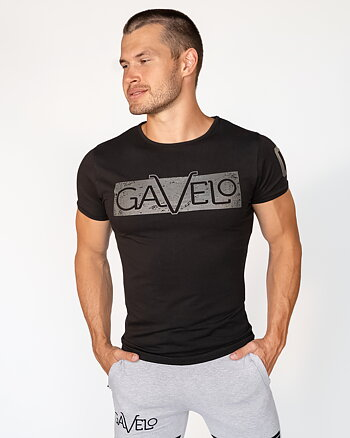 GAVELO Sports Tee Space Black