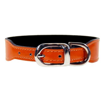 HARTMAN & ROSE ORANGE LÄDER MED NICKEL