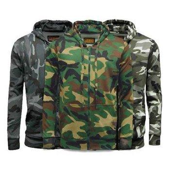 Camouflage huvtröjor | 3 modeller
