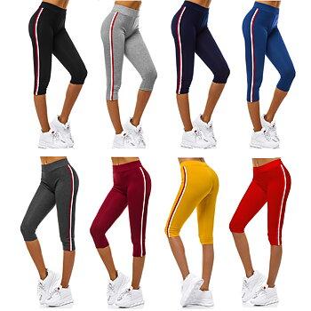 Sportiga Leggings trekvarts 8 olika färger