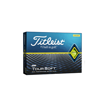 Golfboll - Titleist Tour soft