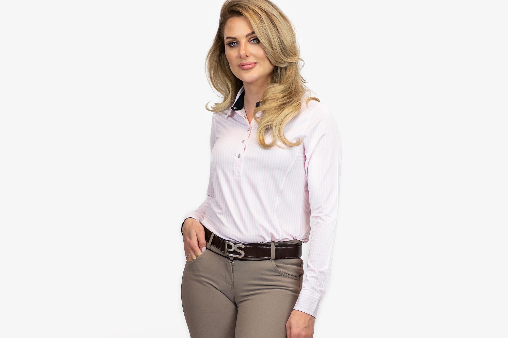 Magic Shirt, June, Light Pink/White - PS of Sweden