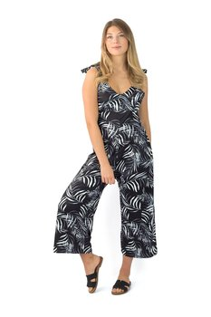 CRUZ JUMPSUIT BLACK/WHITE
