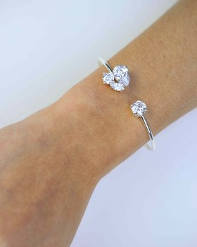 QUINCE ARMBAND SILVER