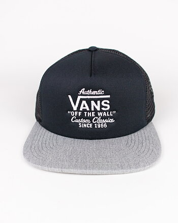 Galer Trucker Black/Heather Grey