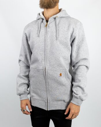 Carhartt - Zip Hood Heather Grey