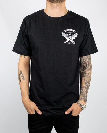 Jernhest - Spark Tee Black